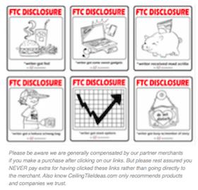 CeilingTileIdeas FTC Disclosure